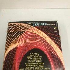 Discos de vinilo: Y EL TECNO CONTINÚA. Lote 196595042