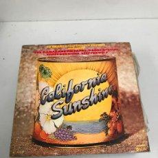 Discos de vinilo: CALIFORNIA SUNSHINE. Lote 196595278