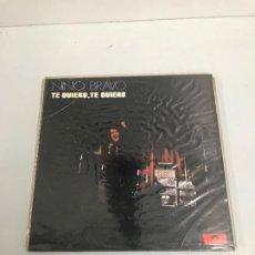 Discos de vinilo: NINO BRAVO. Lote 196595656