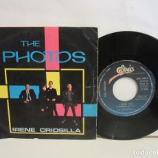 Discos de vinilo: THE PHOTOS - IRENE, CRIDSILLA, BARBARELLAS +1 - EP - 1980 - SPAIN - VG/VG. Lote 196595967