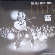 Discos de vinilo: ELVIS -THE GREAT PERFOMANCES - LP RCA/BMG, EUROPE 1990 - ELVIS PRESLEY. Lote 196596700