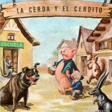 Dischi in vinile: LA CERDA Y EL CERDITO (OBSEQUIO DE ALMACENEZ VAZQUEZ) EP 1967. Lote 196597657