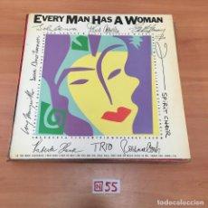 Discos de vinilo: EVERY MAN HAS A WOMAN. Lote 196600326