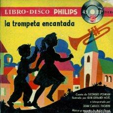 Discos de vinil: LA TROMPETA ENCANTADA (DISCO LIBRO PHILIPS) EP 1959. Lote 196602088