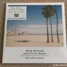 Discos de vinilo: MARK KOZELEK - JOE ALWAYS SMILED BLUE VINILO ED LIMITADA NUEVO PRECINTADO. Lote 196605431