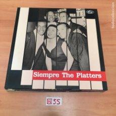 Discos de vinilo: SIEMPRE THE PLATTERS. Lote 196606273