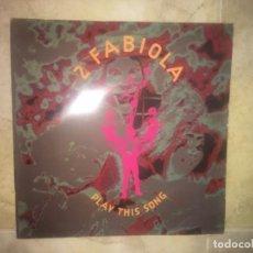 Discos de vinilo: 2 FABIOLA: PLAY THIS SONG. Lote 196606317