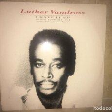 Discos de vinilo: LUTHER VANDROSS: I GAVE IT UP. Lote 196606402