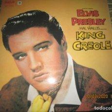 Discos de vinilo: ELVIS PRESLEY - KING CREOLE LP - EDICION INGLESA - RCA RECORDS 1972 - STEREO - MUY NUEVO (5).. Lote 196606880