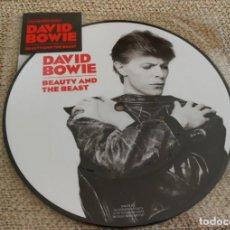 Discos de vinilo: DAVID BOWIE - BEAUTY AND THE BEST / PICTURE DISC NUEVO PRECINTADO ED LIMITADA . Lote 196608933