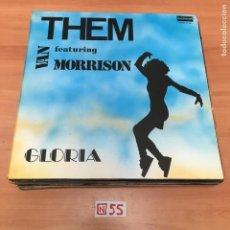 Discos de vinilo: THEM - VAN MORRISON. Lote 196618855