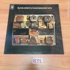 Discos de vinilo: BLOOD, SWEAT. Lote 196619795