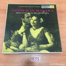Discos de vinilo: DINNER IN HAVANA. Lote 196620310