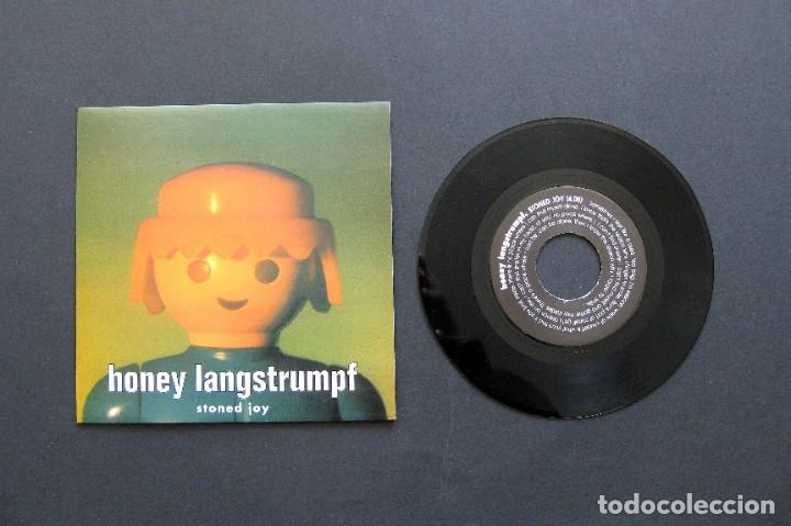 HONEY LANGSTRUMPF ?– STONED JOY – VINILO 1995 (Música - Discos de Vinilo - Maxi Singles - Grupos Españoles de los 90 a la actualidad)