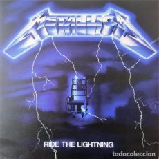 Discos de vinilo: METALLICA – RIDE THE LIGHTNING -LP-. Lote 218117918
