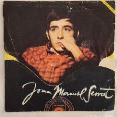 Discos de vinilo: SINGLE / JOAN MANUEL SERRAT / LA, LA, LA - MIS GAVIOTAS / NOVOLA ESPAÑA 1968. Lote 196636693