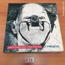 Discos de vinilo: LIFES HARD AND THEN YOU DIE. Lote 196639342