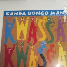 Discos de vinilo: KANDA BONGO MAN KWASSA KWASSA ( 1989 HANNIBAL UK ) AFRICA EXCELENTE ESTADO. Lote 196640402