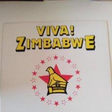 Discos de vinilo: VIVA ZIMBABWE DANCE MUSIC FROM ZIMBABWE ( 1983 EARTHWORKS USA ) AFRICA EXCELENTE ESTADO. Lote 196641375