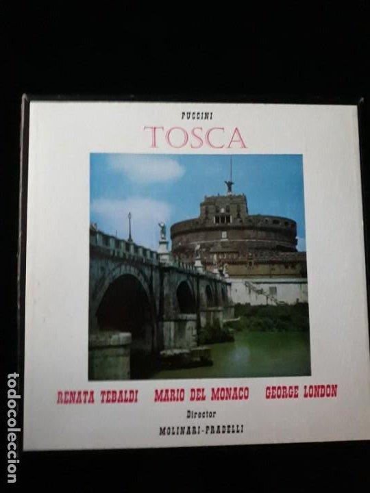 PUCCINI TOSCA DECCA SXL 2180/81 1960 (Música - Discos - Singles Vinilo - Solistas Españoles de los 70 a la actualidad)