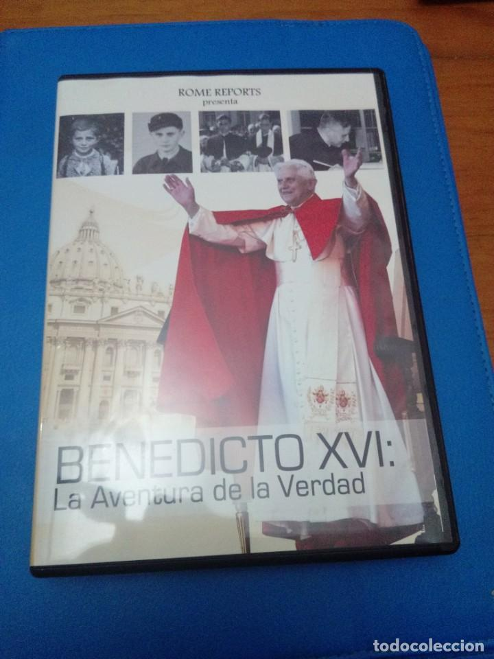 DVD. BENEDICTO XVI LA AVENTURA DE LA VERDAD. B31DVD (Música - Discos de Vinilo - EPs - Música Infantil)