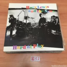 Discos de vinilo: HUEY LEWIS & THE NEWS HARD AT PLAY. Lote 196664108