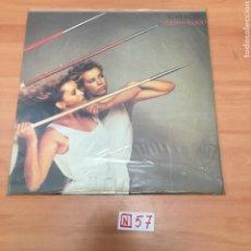 Discos de vinilo: ROXY MUSIC FLESH+ BLOOD. Lote 196665425