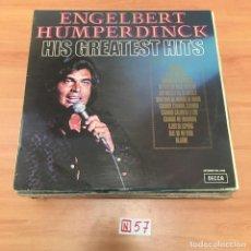 Discos de vinilo: HIS GREATEST HITS. Lote 196666453