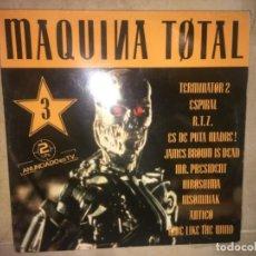 Discos de vinilo: MÁQUINA TOTAL 3 CONTIENE 2 LPS. Lote 196666511