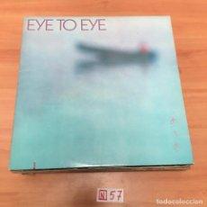 Discos de vinilo: EYE TO EYE. Lote 196666587