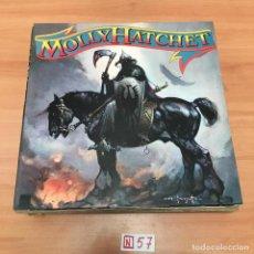 Discos de vinilo: MOLLY HATCHET. Lote 196666636