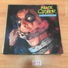 Discos de vinilo: ALICE COOPER. Lote 196674218