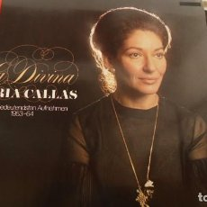 Discos de vinilo: LA DIVINA MARIA CALLAS. Lote 196679466