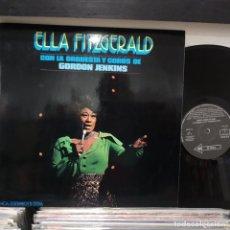 Discos de vinilo: LP ESPAÑOL 1973 ELKA FITZGERALD CON LA ORQUESTA Y COROS DE GORDON JENKINS VG++/VG++ DISCO SEMINUEVO. Lote 196739056