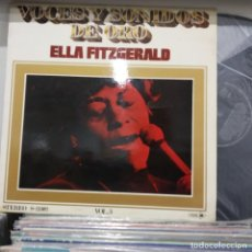 Discos de vinilo: LP ESPAÑOL 1971 ELLA FITZGERALD VOCES Y SONIDOS DE ORO VG/VG++ DISCO SEMINUEVO. Lote 196739761