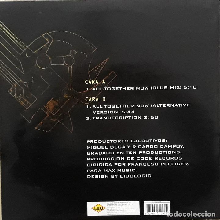 Discos de vinilo: REVENGE - ALL TOGETHER NOW - Foto 2 - 196743296