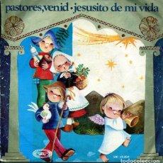 Discos de vinil: NAVIDAD - ORFEON INFANTIL DE ESPAÑA / PASTORES, VENID + 1 (SINGLE 1970) VINILO ROJO. Lote 196750916