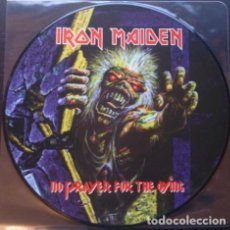 Discos de vinilo: IRON MAIDEN – NO PRAYER FOR THE DYING -LP PICTURE-. Lote 243868810