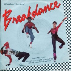 Dischi in vinile: BREAKDANCE (BSO) OLLIE AND JERRY / NO HAY QUIEN NOS PARE + 1 (SINGLE 1984). Lote 196753936
