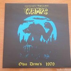Discos de vinilo: LP THE CRAMPS - OHIO DEMO'S 1979 - SEGUNDA EDICIÓN. Lote 196757601