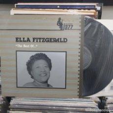 Discos de vinilo: LP ELLA FITZGERALD THE BEST OF PLATINUM JAZX VG+/VG++. Lote 196757617