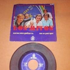 Discos de vinilo: LOS MITOS. SUENA UNA GUITARRA. NO SE POR QUE. HISPAVOX 1970. Lote 196771950