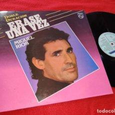 Disques de vinyle: MIGUEL RIOS ERASE UNA VEZ LP 1985 PHILIPS. Lote 196772103