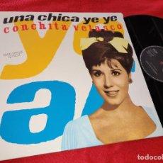 Discos de vinilo: CONCHITA VELASCO UNA CHICA YEYE/MAMA QUIERO SER ARTISTA MX-12''1990 RCA. Lote 196772277