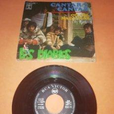 Discos de vinilo: LOS DIABLOS. CANTAR Y CANTAR. OH,OH,NADA MAS. RCA VICTOR. 1968. Lote 241096285