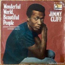 Dischi in vinile: JIMMY CLIFF : WONDERFUL WORLD WONDERFUL PEOPLE [ESP 1969] 7'. Lote 196774577
