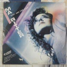 Discos de vinilo: DISCO MARITER, YOU ARE THE ONE 1987. Lote 196775205