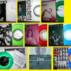 Discos de vinilo: LOTE 8 SINGLES - GRUNGE, ALTERNATIVE, PUNK 45 & EP EDT USA, TODOS EN ESTADO IMPECABLE !. Lote 196777891