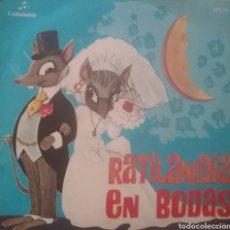 Discos de vinilo: RATILANDIA EN BODAS. SINGLE. SELLO COLUMBIA. EDITADO EN ESPAÑA. AÑO 1969. Lote 196779410