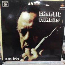 Discos de vinilo: LP CHARLIE MINGUS C.M. TRIO VG++. Lote 196784021